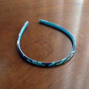 Vera Bradley Blue Rhapsody Thin Headband